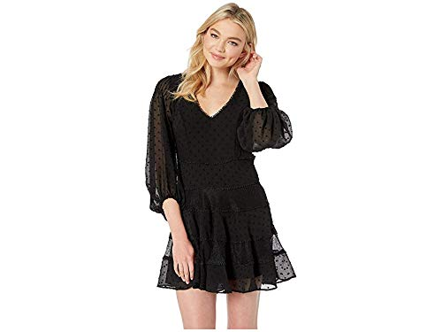 Bardot Mae Lace Dress Black SM (The Best Of Bardot)