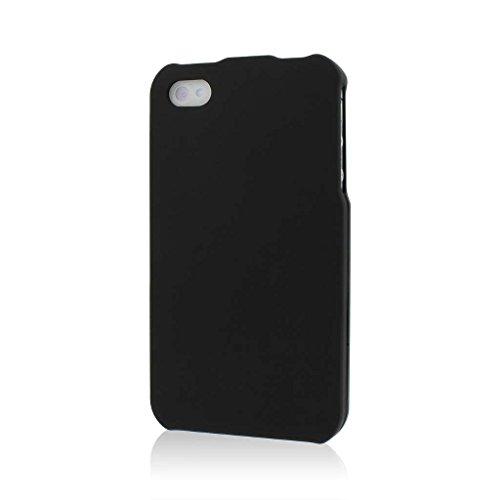 MPERO SNAPZ Série Caoutchouté Case Étui Coque pour Apple iPhone 4 / 4S - Noir