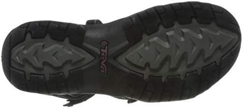 Teva Women's W Tirra Sandal (9 M US, Black/Grey)