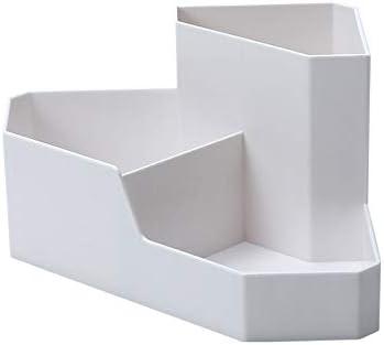 SDHN Schreibtisch Zubehör Veranstalter Einfache Desktop-Kosmetik Corner Storage Box Kreative Startseite Fernbedienung Finishing Box Briefpapier Schmuckkasten Cosmetic Box Für Pens Stationery