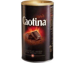 Caotina Noir Switzerland, 4 Packages Total 2 Kilograms, Chocolate Suisse Pure Sensation