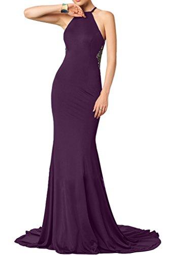 Missdressy - Vestido - Escotado por detrás - para mujer morado 36