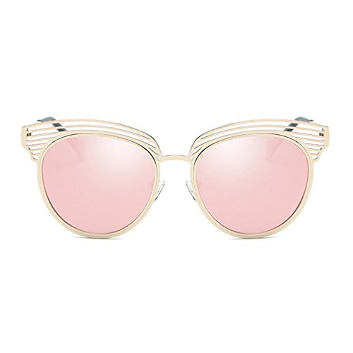 LOMOL Womens Trendy Unique design Personality Round Uv Protection - Sunglasses Website Okey