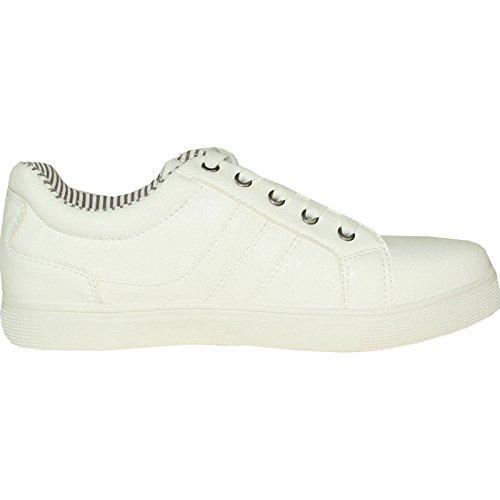CORONADO Men Sneaker Shoes GATSBY-1 Comfort Soft with a Plain Round Toe White 9M oACbabbWK
