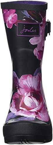 de Tom Winter Joule Bloom Schwarz Marine French Beau Pluie Mollywelly Floral Blkwtfl Bottes Black Femme rrwd7tq