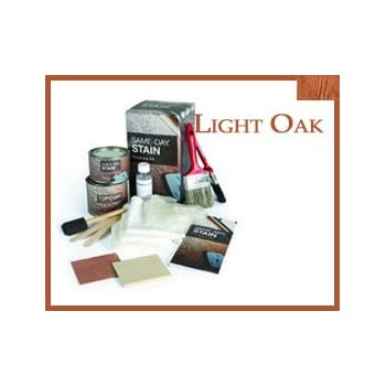 Therma Tru Stain Kit Light Oak Fiberglass Door Finishing Kit