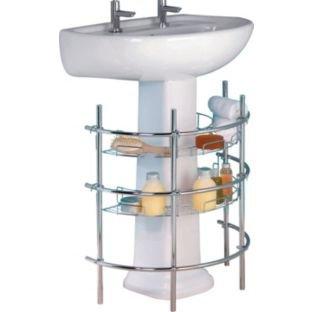 Durable Under Sink Storage Unit - Chrome. by ChoicefullBargain