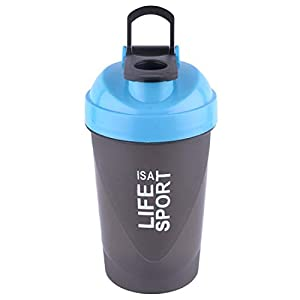 GRANIFY Gym Shaker Bottle BPA Free Life is A Sport