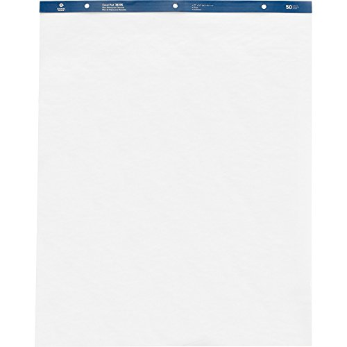 Business Source Standard Easel Pad, 27'' x 34'', 4/Carton (38205) by Business Source (Image #1)