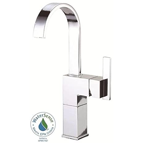 Danze D201544 Sirius Deck Mount Vessel Lavatory Faucet, Chrome ...
