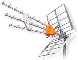 1495 TELEVES Antena de exterior DAT HD Boss Tech (UHF) con ...