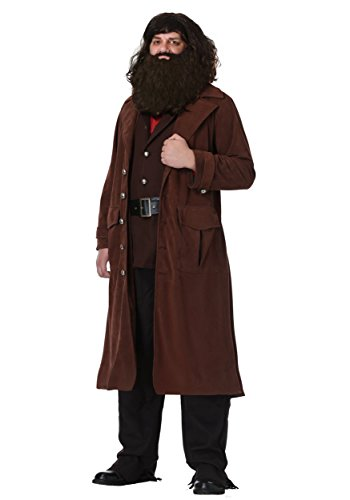 Charades Deluxe Hagrid Adult Costume X-Large Brown