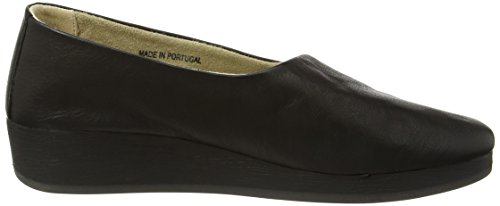 Ako416sof toe Heels Softinos Black Women''s black Closed CqBx0S
