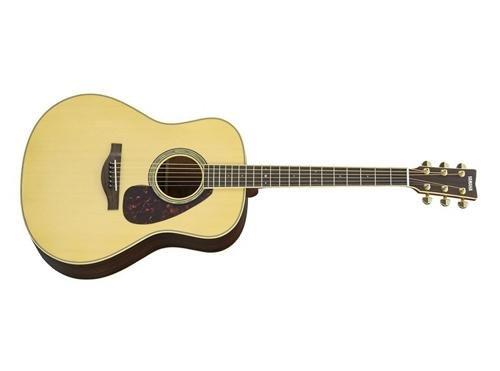 Yamaha L-Series LL6 Acoustic-Electric Guitar - Rosewood, Dreadnought, Natural