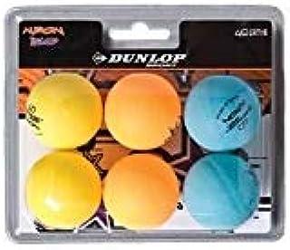 Dunlop 6 balles Tennis de Table BL 40+ Nitro Glow 0045566500021