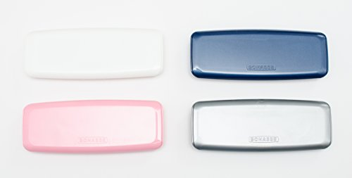 Sports Vision's Qty 2 Grey Daily Disposable Travel Contact Lens Case (4 Colours Available)