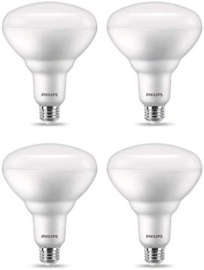 Philips Led 558056 High Lumen Dimmable Br40 Flicker Free Flood Light Bulb With Eyecomfort Technology 2175 Lumen 5000k 20 150 Watt Equivalent E26 Medium Base Daylight 4 Pack Title 20 Compliant Amazon Com