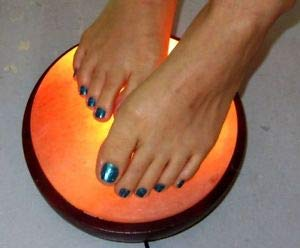 Himalayan Foot Detox Half Dome Lamp | Remove Toxins & Relax Tired & Achy Feet by AMH (Image #2)