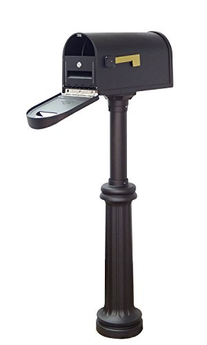 Special Lite Products Company Classic Curbside Mailbox With Locking Insert And Bradford Mailbox ()