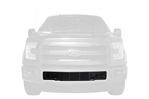 Putco 87160 Black Stainless Steel Bar Style Bumper Grille for Ford ()