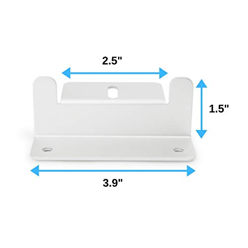 """Houseables Solar Panel Mounting Brackets, Roof Panels Z Bracket, 2.5"""" x 1.5"""" x 3.9"""", 4 Sets (16 Pc), Silver, Aluminum, Adjustable Mount Bolt Kit, Accessories for Boats, Wind Generators, RVs, Trailers by Houseables (Image #1)"""