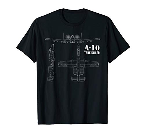 A-10 Warthog Tank Killer Shirt Air Force Thunderbolt Tee