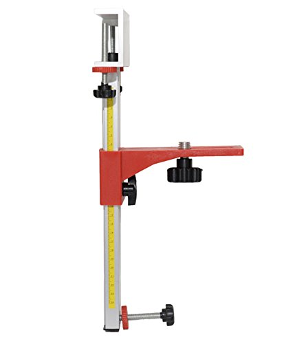 Adirpro Universal Laser Level Wall (Wood) Mount Bracket for Topcon, Spectra, Leica, Bosch, Hilti and Dewalt Lasers ()