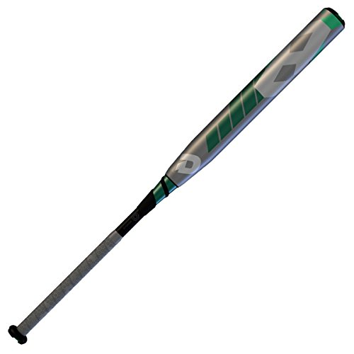 "Wilson Demarini 2016 CF8 Slapper Fastpitch Bat (-10), Grey/Teal/Forest/White, 32""/22 oz"