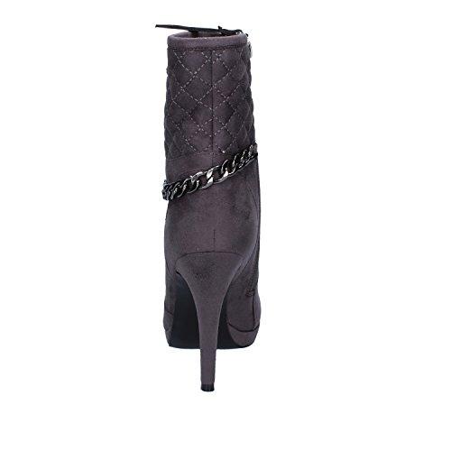 Suede 39 Grey EU Ankle Braccialini Boots Womens xYtvHW4q