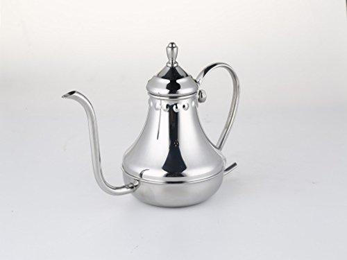 Pour over kettle for coffee tea ergonomic designed