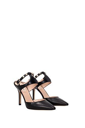 Di Delle Garavani Donne Di Sandali Nero Colore Valentino Modo 7wEBPIPWq