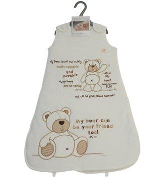 Snuggle - Carcasa bolsa - Saco de dormir para bebé 12 - 18 2 Tog Unisex Crema oso: Amazon.es: Bebé