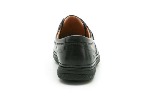 Nero Stivali Nero Size Swift One Fits Turn All Clarks uomo f8WEWz