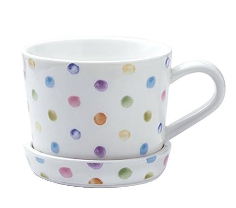 TBSB Simple Plato Taza, Taza de café, Desayuno Taza de Leche, una Taza de harina de Avena,Uno: Amazon.es: Hogar
