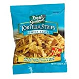 Fresh Gourmet Lightly Salted Tortilla Strips - 0.75 oz. portion, 100 per case