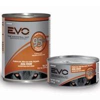 EVO 95% Chicken & Turkey Canned Dog Food - 24x5.5 oz