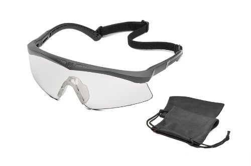 Revision Military Sawfly Basic Clear, Regular - Black