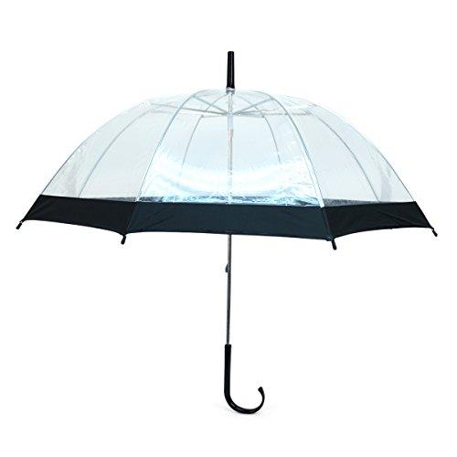 Umbrella Promotional (Kids' See-Thru Clear & Color Border Umbrella)