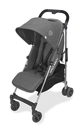 Maclaren Quest Arc Stroller- ideal for newborns up to 55lb with extendable UPF 50+/waterproof hood, multi-position seat…