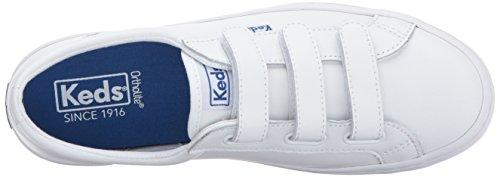 Tiebreak Leather Fashion Sneaker, White