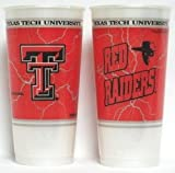 NCAA Texas Tech Red Raiders 4-Pack 24oz. Plastic Souvenir Cups
