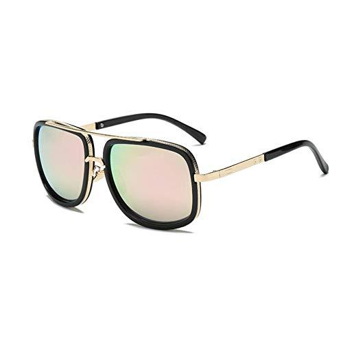 nbsp; Lunettes Gjyanjing Soleil Lady Mode Femmes Shades nbsp;vintage Pink Uv400 nbsp; De La Square Surdimensionnées Nouveau xfvfgdw