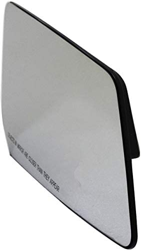 Fit System 80223 Chevrolet//GMC//Saturn Right Side Power Replacement Mirror Glass with Backing Plate