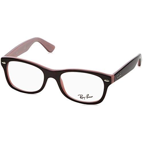 7e23ad169f Ray-Ban 0Ry1528 Monturas de gafas, Rectangulares, 46, Top Avana/Opaline