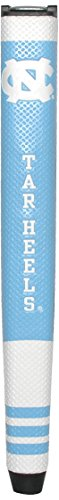 Team Golf NCAA North Carolina Tar Heels Golf Putter Grip with Removable Gel Top Ball Marker, Durable Wide Grip & Easy to Control