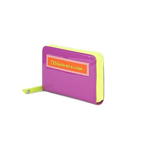 e26ca235513 Billetera en color morado cierre sencillo con diseño de agatha ruiz de la  prada - Cloe  Amazon.com.mx  Ropa