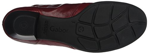 Gabor Rosso Stivali Basic red Dark Donna 8w8BxqUr