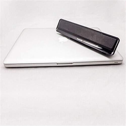 CXZA スピーカー、マルチメディアデスクトップノートブックサブウーファーオーディオ、ポータブルミニスピーカー (Color : Black)