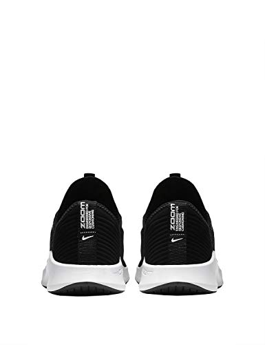 black Basses white Elevate Nike Femme Sneakers Wmnsair Noir 001 Zoom x7TAPq0wvP
