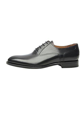 SHOEPASSION No. 539 Exklusiver Business, Freizeit- oder Auch Hochzeitsschuh für Herren. Rahmengenäht und Handgefertigt Aus Feinstem Leder. Schwarz
